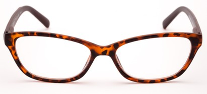 cat eye reader wood temples