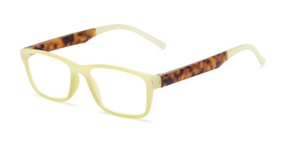 Angle of The Wheat in Green/Tortoise, Women's Rectangle Reading Glasses