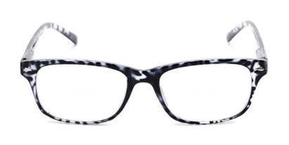Front of The Williamsburg Bifocal in Black Tortoise