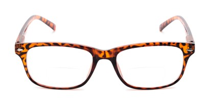 Front of The Williamsburg Bifocal in Brown Tortoise