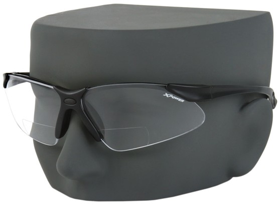 Image #3 of Women's and Men's X Power Bifocal Safety Glasses with Interchangeable Lenses