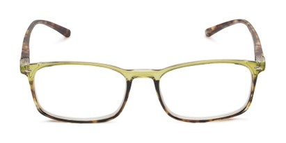 Front of The Yonkers in Green/Tortoise
