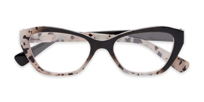 Folded of The Zara in Tortoise/Black