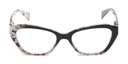 Front of The Zara in Tortoise/Black