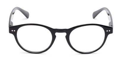 trendy round keyhole bridge reading glasses
