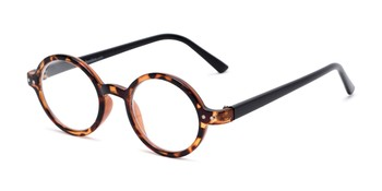 f9f9607f12 Angle of The Bookworm in Brown Tortoise Black