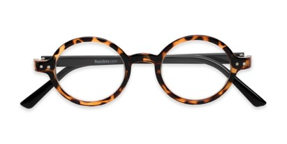 b7f5f7819f3 Folded of The Bookworm in Brown Tortoise Black
