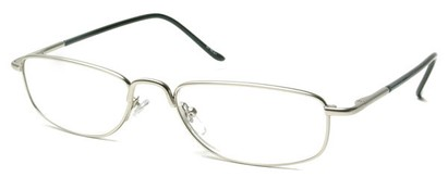 Angle of The Truman in Matte Silver, Women's and Men's