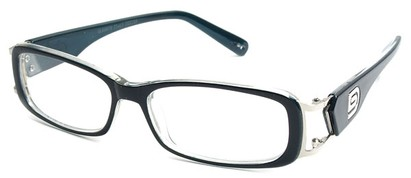Angle of The Devin in Black and Blue Frame, Women's and Men's