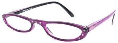 Angle of The Charlotte in Purple and Black, Women's and Men's