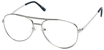 Angle of The Cobble Hill in Silver Frame, Women's and Men's