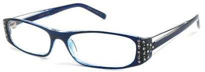 Angle of The Anna in Blue and Clear, Women's and Men's