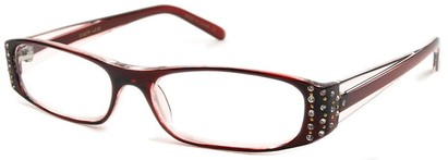 Angle of The Anna in Red and Clear, Women's and Men's