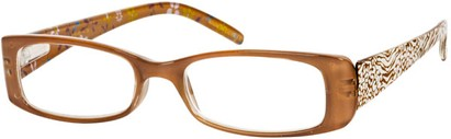 Angle of The Mandy in Brown Animal/Floral, Women's and Men's
