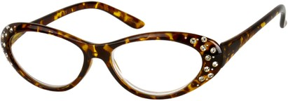 Angle of The Candy in Brown Tortoise, Women's and Men's