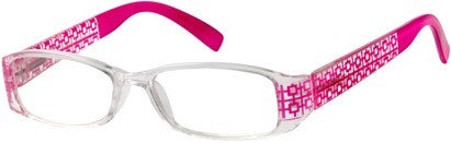 Angle of The Reagan in Clear/Pink, Women's and Men's