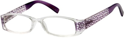 Angle of The Reagan in Clear/Purple, Women's and Men's