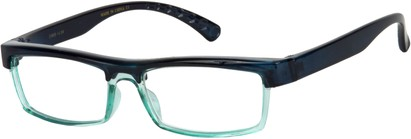 Angle of The Eugene in Black/Green, Women's and Men's