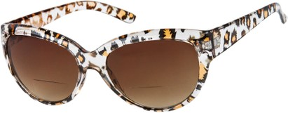 Leopard Print Bifocal Reading Sunglasses