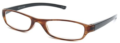 Angle of The Avalon in Light Tortoise and Black, Women's and Men's