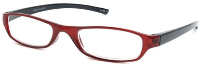 Angle of The Avalon in Red and Black, Women's and Men's