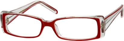 Angle of The Wells in Clear/Red, Women's and Men's
