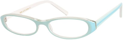 Angle of The Imogen in Light Blue/White, Women's and Men's