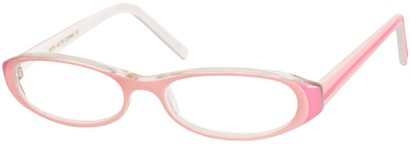 Angle of The Imogen in Light Pink/White, Women's and Men's