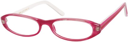 Angle of The Imogen in Berry Pink/White, Women's and Men's