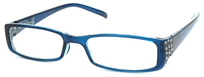 Angle of The Alessandra in Blue, Women's and Men's