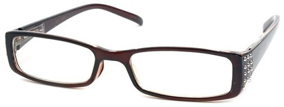 Angle of The Alessandra in Brown, Women's and Men's