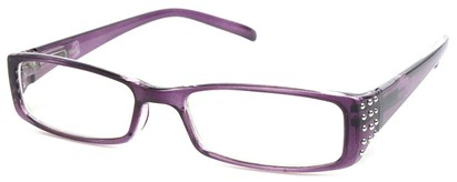 Angle of The Alessandra in Purple, Women's and Men's