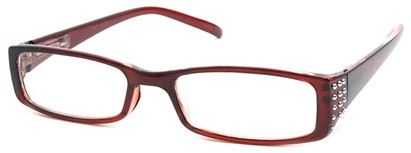 Angle of The Alessandra in Red, Women's and Men's