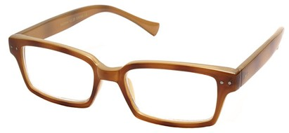 Angle of The Bayside in Brown and Tan Frame, Women's and Men's
