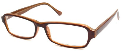 Angle of The Glenwood in Brown Frame, Women's and Men's