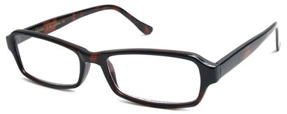 Angle of The Glenwood in Brown Tortoise Frame, Women's and Men's