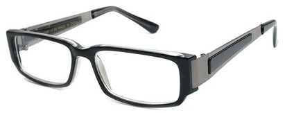 Angle of The Jetson in Black and Grey Frame, Women's and Men's