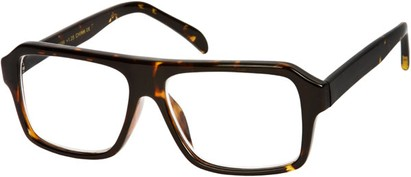 Angle of The Bryant in Brown Tortoise, Women's and Men's
