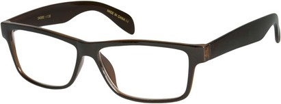 Angle of The Richard in Brown, Women's and Men's