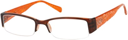 Angle of The Presley in Brown/Orange Marble, Women's and Men's