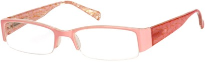 Angle of The Presley in Light Pink Marble, Women's and Men's