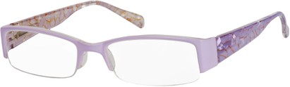 Angle of The Presley in Lilac Purple Marble, Women's and Men's