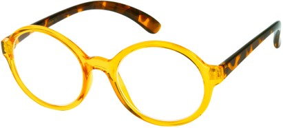 Angle of The Sheldon in Clear Yellow, Women's and Men's