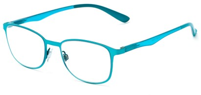 Angle of The Masterpiece in Blue, Women's and Men's Square Reading Glasses