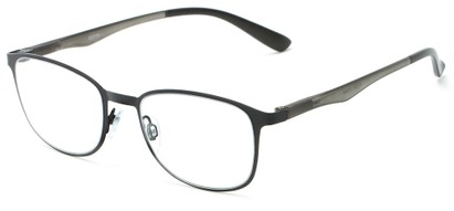 Angle of The Masterpiece in Black, Women's and Men's Square Reading Glasses