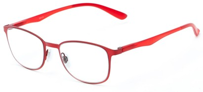 Angle of The Masterpiece in Red, Women's and Men's Square Reading Glasses