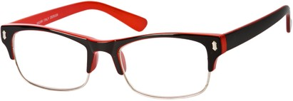Angle of The Felix in Black/Red, Women's and Men's
