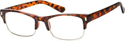 Angle of The Felix in Brown Tortoise, Women's and Men's