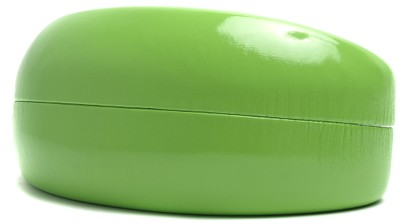 Angle of Colorful Reading Glasses Case in Lime Green, Women's and Men's  Hard Cases