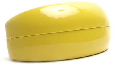 Angle of Colorful Reading Glasses Case in Yellow, Women's and Men's  Hard Cases